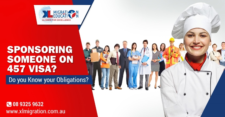 Australian Immigration - Employer Sponsorship Obligations Under 457 Visa
