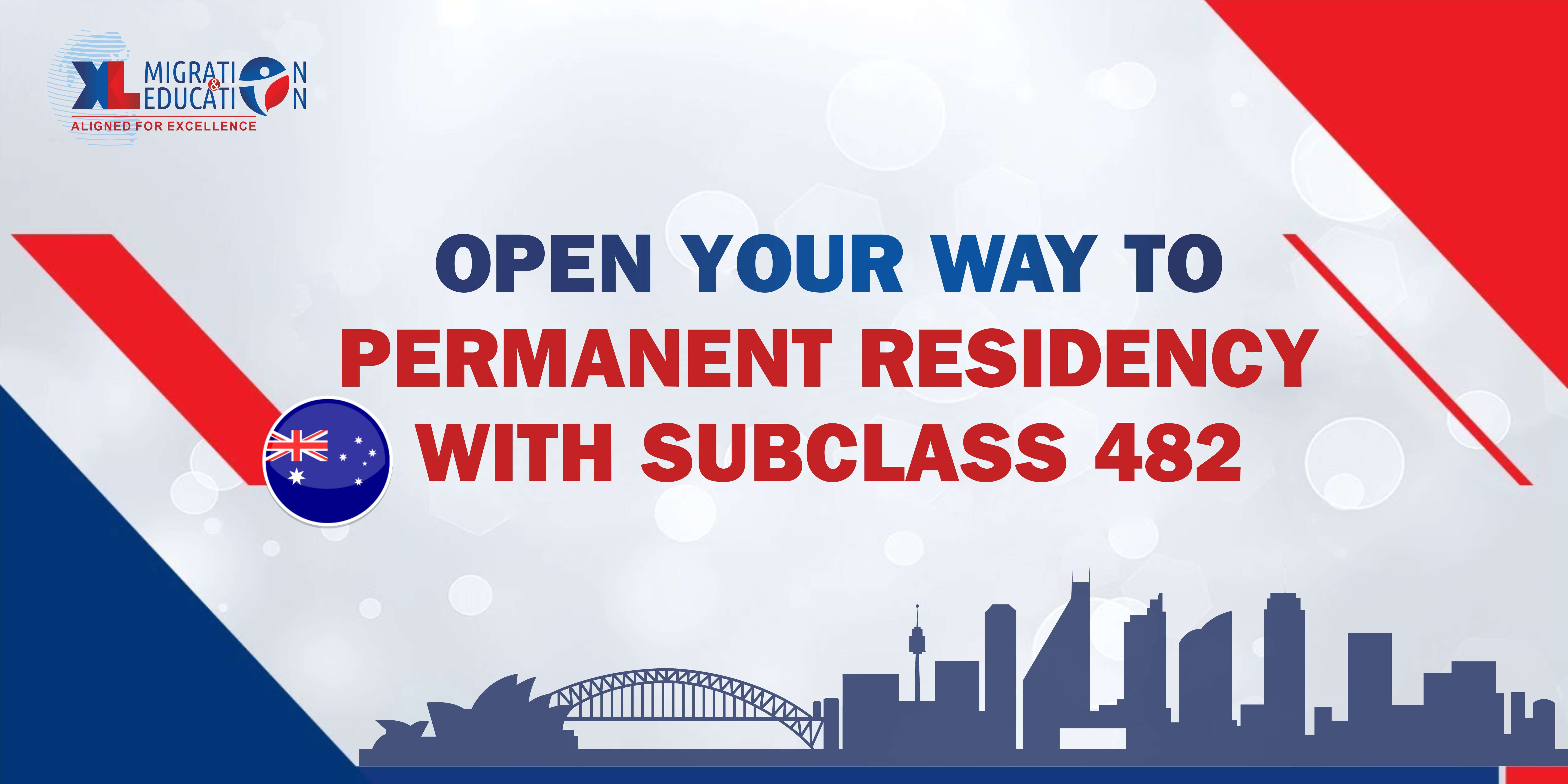 Open your way to Permanent Residency with subclass 482