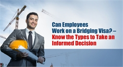 Can Employees Work on a Bridging Visa? – Know the Types to Take an Informed Decision